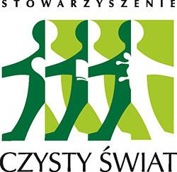 Logo Stowarzyszenia Czysty Świat
